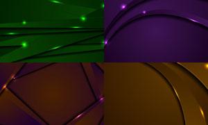 闪耀星光装饰点缀抽象背景矢量素材