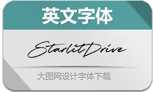 StarlitDrive(英文字体)