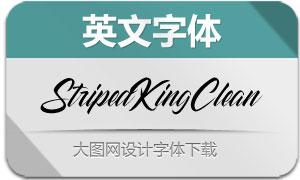 StripedKingClean(英文字体)