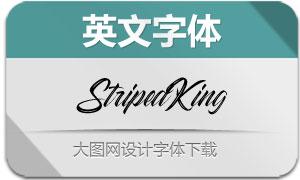 StripedKing(英文字体)