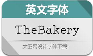 TheBakery(英文字体)