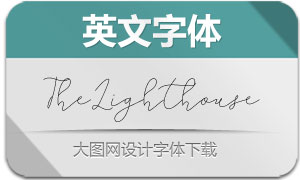 TheLighthouse(英文字体)