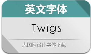 Twigs(英文字体)