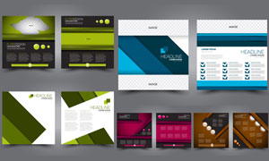 应用广泛的宣传单模板矢量素材V03