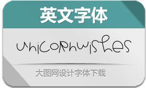UnicornWishes(英文字体)