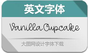 VanillaCupcake(英文字体)