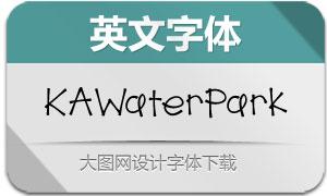 KAWaterPark(英文字体)