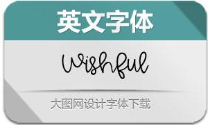 Wishful(英文字体)