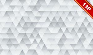 灰白色抽象马赛克创意背景高清图片
