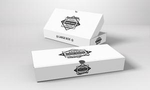 产品包装盒上的图案贴图模板源文件
