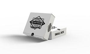 包装用纸盒印刷图案展示贴图源文件