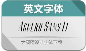 AgueroSans-Italic(英文字体)