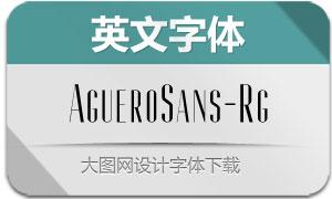 AgueroSans-Regular(英文字体)
