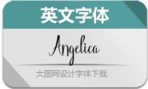 Angelica(英文字体)