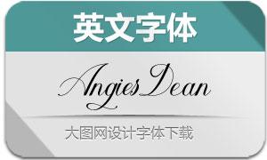 AngiesDean(英文字体)