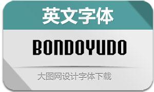 Bondoyudo(英文字体)