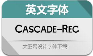 Cascade-Regular(英文字体)