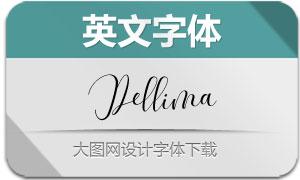 Dellima(英文字体)