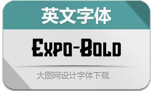 Expo-Bold(英文字体)