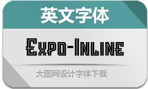 Expo-Inline(英文字体)