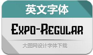 Expo-Regular(英文字体)