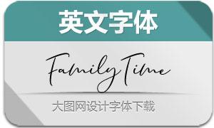 FamilyTime(英文字体)