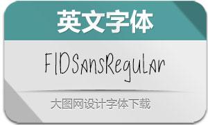 FIDSans-Regular(英文字体)