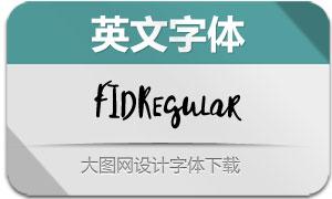 FID-Regular(英文字体)