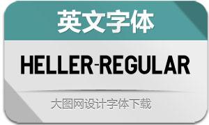 Heller-Regular(英文字体)