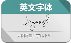 Jaywish(英文字体)
