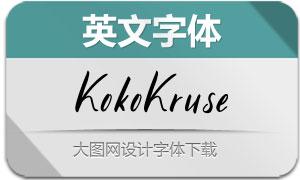 KokoKruse(英文字体)
