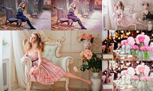 30款粉色主题风格后期LR预设