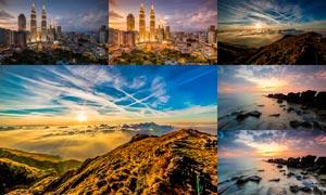 20款风景照片后期HDR艺术效果LR预设