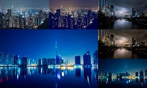 20款城市夜景照片冷色效果LR预设