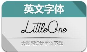 LittleOne(英文字体)
