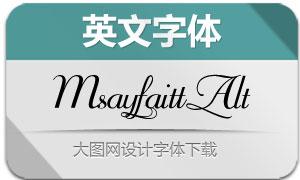 Mayfair-Alt(英文字体)