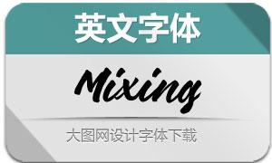 Mixing(英文字体)