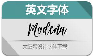 Modena(英文字体)