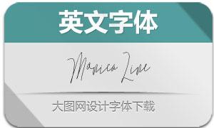 MonicaLine系列2款英文字体