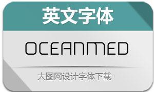 Ocean-Medium(英文字体)