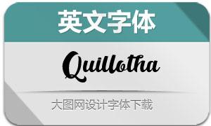 Quillotha(英文字体)