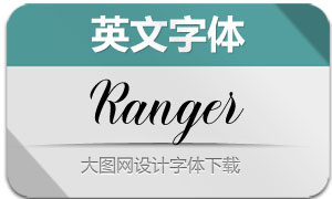 Ranger(英文字体)