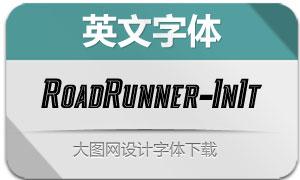 RoadRunner-InlineItalic(英文字体)