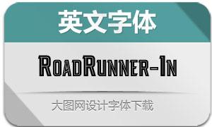 RoadRunner-Inline(英文字体)
