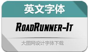 RoadRunner-Italic(英文字体)