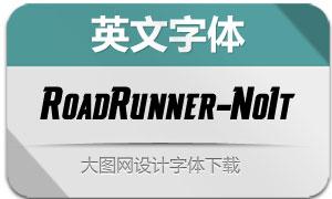 RoadRunner-NotchedItalic(英文字体)
