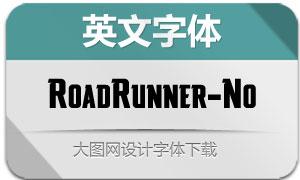 RoadRunner-Notched(英文字体)