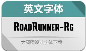 RoadRunner-Regular(英文字体)