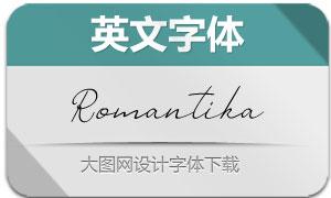 Romantika(英文字体)