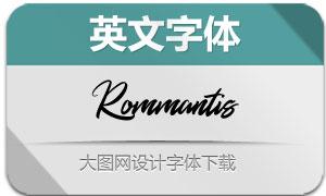 Rommantis(英文字体)